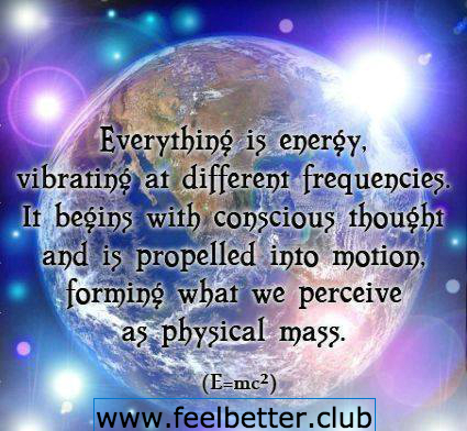 Everything is energy (Einstein)2