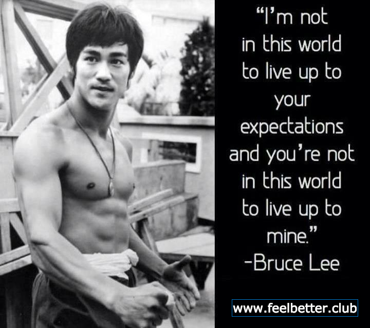 Expectations (Bruce Lee)