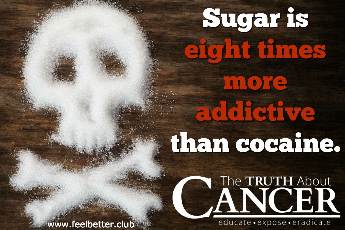 Sugar is more addictive than cocaine