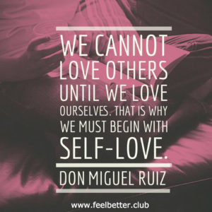 We cannot love others until